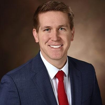 Dr. Spencer Mecham working at Sun Valley Pediatric Dentistry